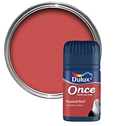 Dulux Once Roasted Red Matt Emulsion Paint 0.05L