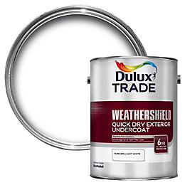 Dulux Trade Pure Brilliant White Flat Matt Undercoat