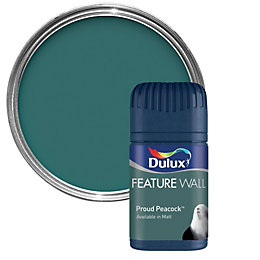 Dulux Proud Peacock Matt Emulsion Paint 50ml Tester
