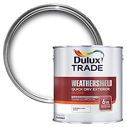 Dulux Trade Exterior Pure Brilliant White Gloss Wood