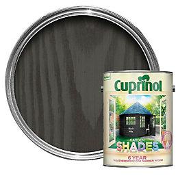 Cuprinol Garden Shades Black Ash Wood Paint 5L