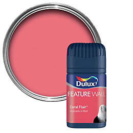 Dulux Coral Flair Matt Emulsion Paint 0.05L Tester