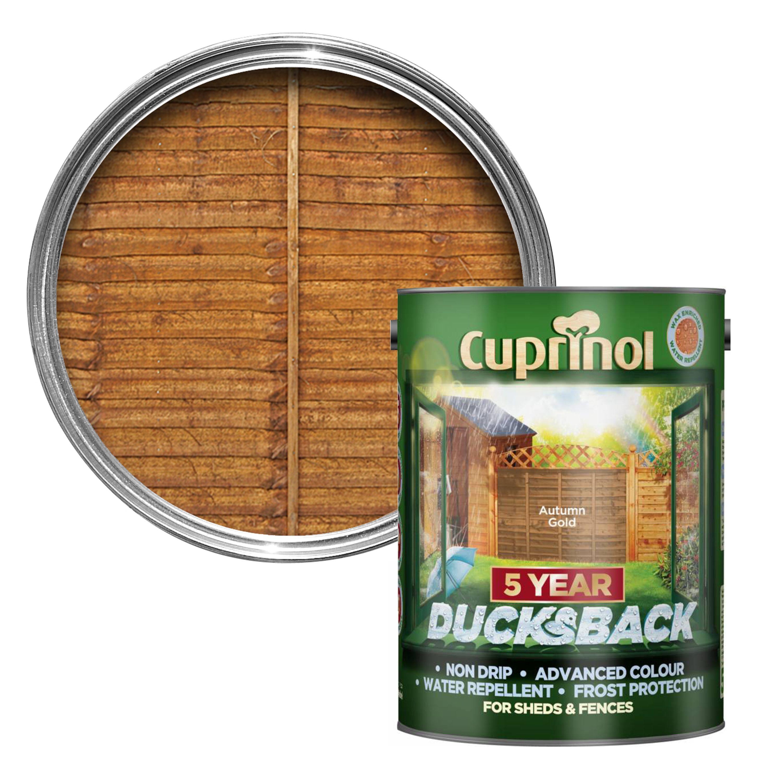 Cuprinol 5 Year Ducksback Autumn Gold Shed Amp Fence