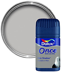 Dulux Once Chic Shadow Matt Emulsion Paint 0.05L