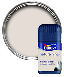 Dulux Nutmeg White Matt Emulsion Paint 0.05L Tester