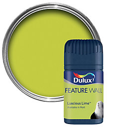 Dulux Luscious Lime Matt Emulsion Paint 50ml Tester