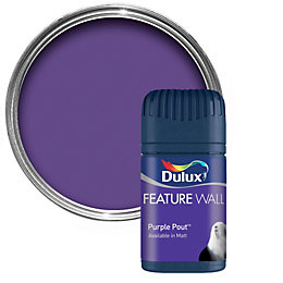Dulux Purple Pout Matt Emulsion Paint 50ml Tester