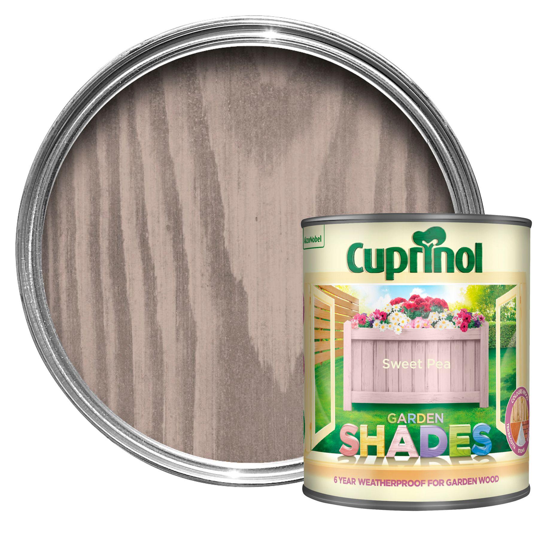 Cuprinol Garden Shades Sweet Pea Matt Wood Paint 1l