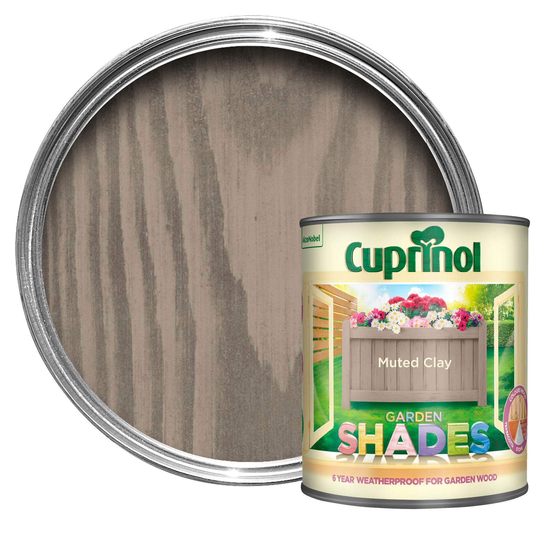 Cuprinol Garden Shades Muted Clay Matt Wood Paint 1l