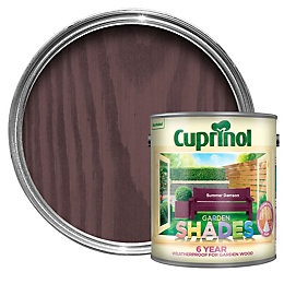 Cuprinol Garden Summer Damson Matt Wood Paint 2.5L