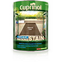 Cuprinol Anti Slip Natural Oak Decking Stain 5L