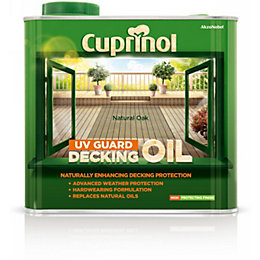 Cuprinol Uv Guard Natural Oak Decking Oil &