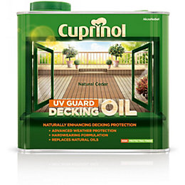 Cuprinol Uv Guard Natural Cedar Decking Oil &