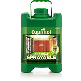 Cuprinol One Coat Sprayable Rich Cedar Shed &