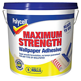 Polycell Maximum Strength Ready to Use Wallpaper Adhesive