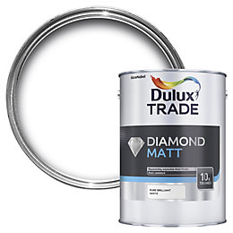 Dulux Trade Diamond Pure Brilliant White Flat Matt
