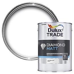 Dulux Trade Diamond Pure Brilliant White Flat Matt