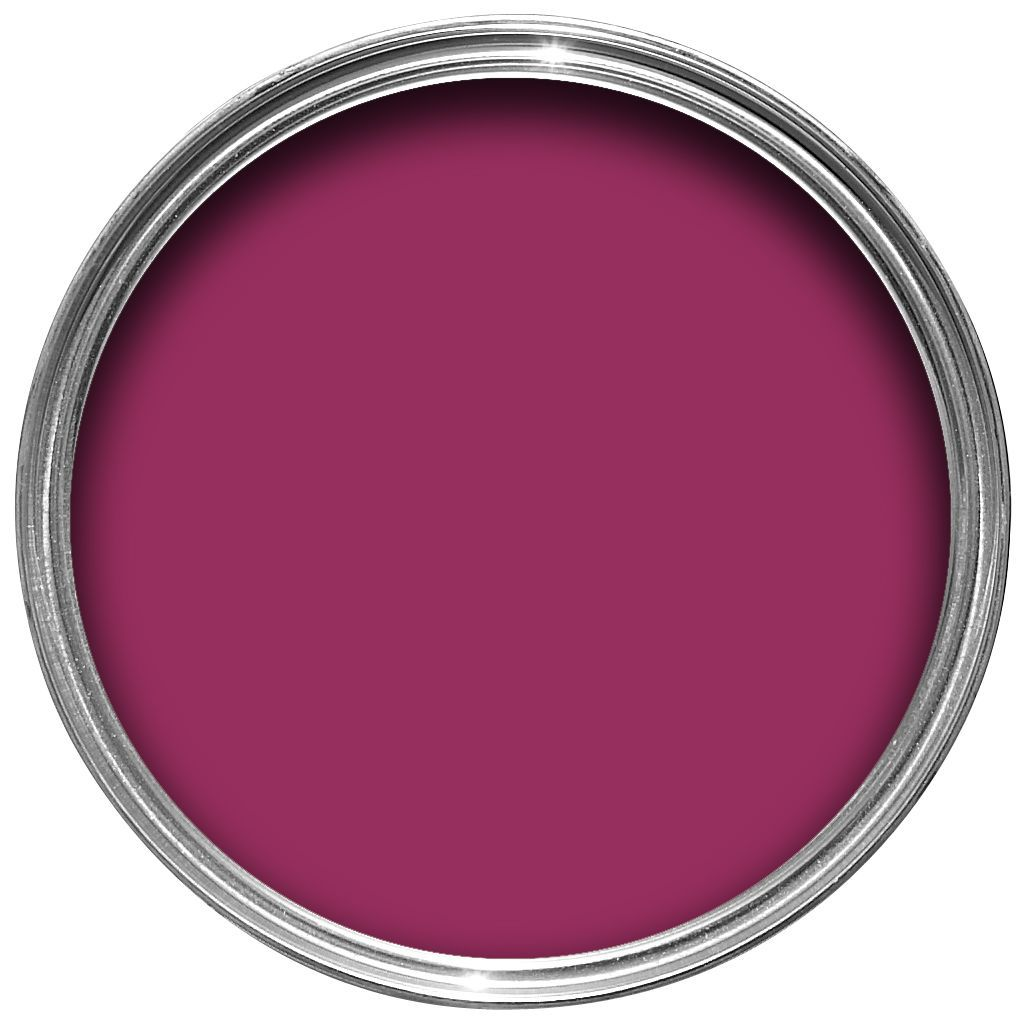 Dulux Feature Wall Sumptuous Plum Matt Emulsion Paint 1