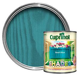 Cuprinol Garden Beach Blue Matt Wood Paint 1L