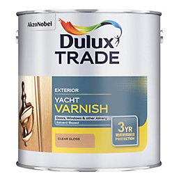 Dulux Trade Clear Gloss Yacht Varnish 2.5L Tin