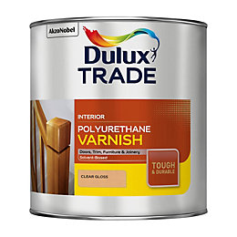 Dulux Trade Clear Gloss Polyurethane Varnish 2.5L