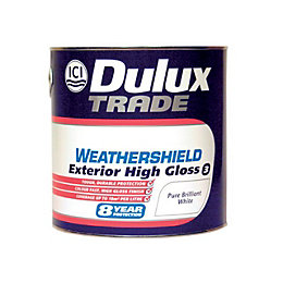 Dulux Trade Weathershield External Pure Brilliant White Gloss