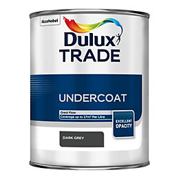 Dulux Trade Dark Grey Matt Undercoat 1L Tin