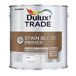 Dulux Trade Stain Block Plus White Matt Primer