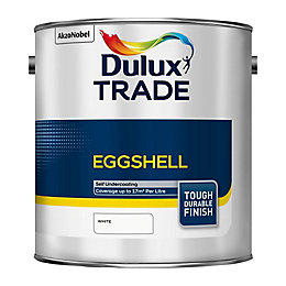 Dulux Trade Interior Eggshell White Eggshell Wood &