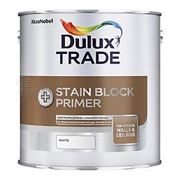 Dulux Trade Stain Block Plus White Matt Stain