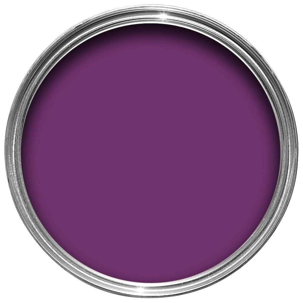 Dulux made by me interior exterior purple passion gloss multipurpose paint 250ml departments - Purple exterior paint image ...