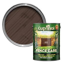 Cuprinol Less Mess Fence Care Rustic Brown Matt