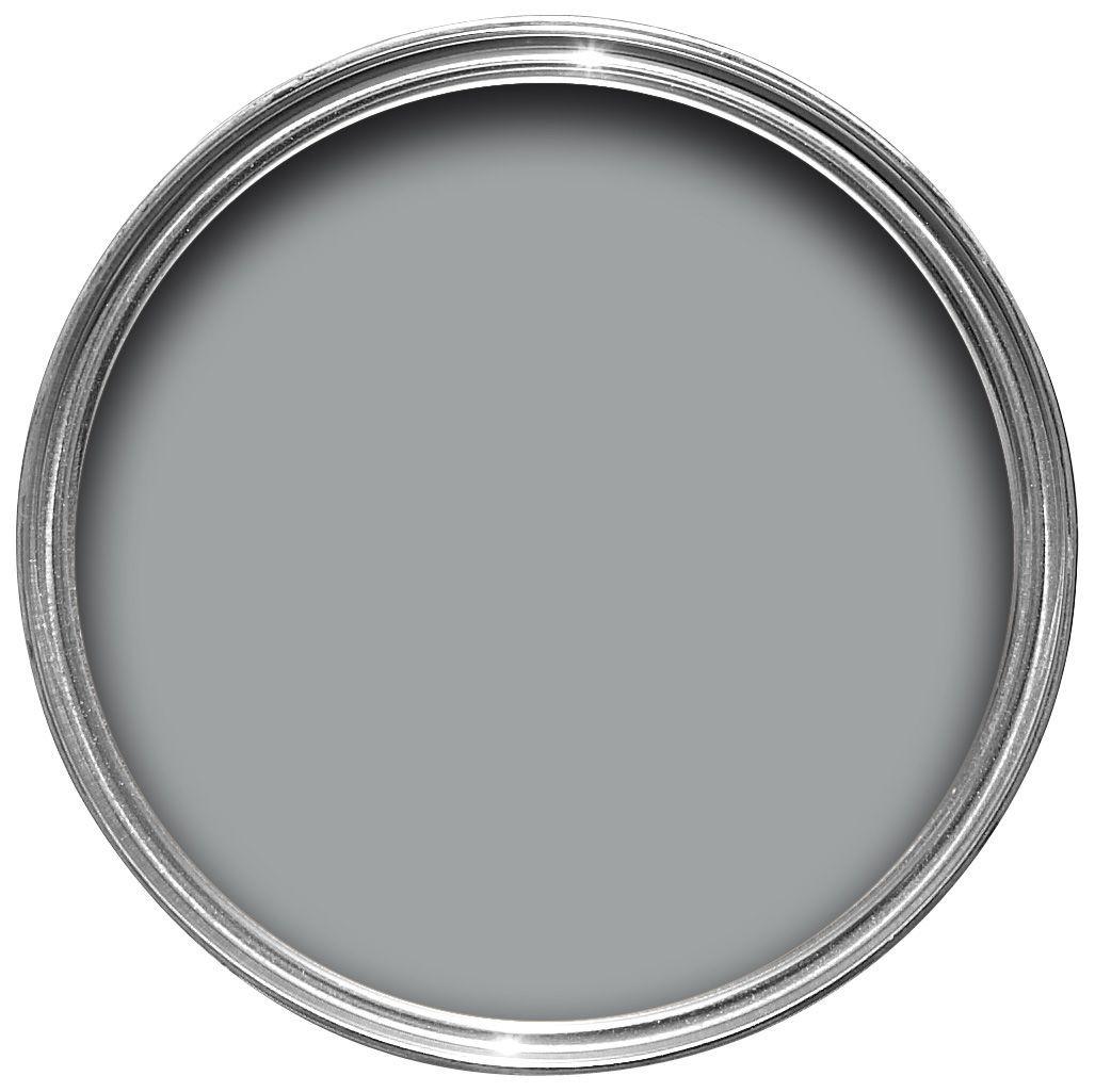 Dulux warm pewter matt emulsion paint 2 5l departments diy at b q - Matt exterior paint image ...