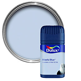 Dulux Blissful Blue Matt Emulsion Paint 50ml Tester