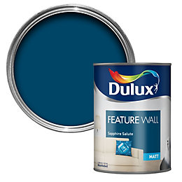 Dulux Sapphire Salute Matt Emulsion Paint 1.25L