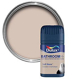 Dulux Bathroom Soft Stone Soft Sheen Emulsion Paint