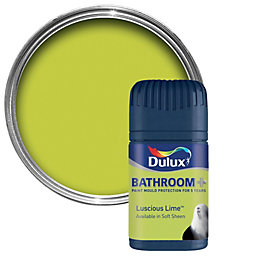 Dulux Bathroom Luscious Lime Soft Sheen Emulsion Paint