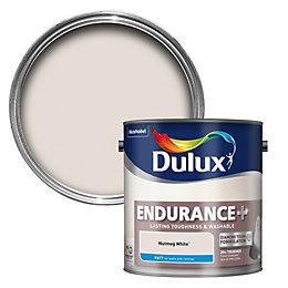 Dulux Endurance Nutmeg White Matt Emulsion Paint 2.5L