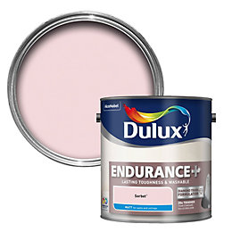 Dulux Endurance Sorbet Matt Emulsion Paint 2.5L