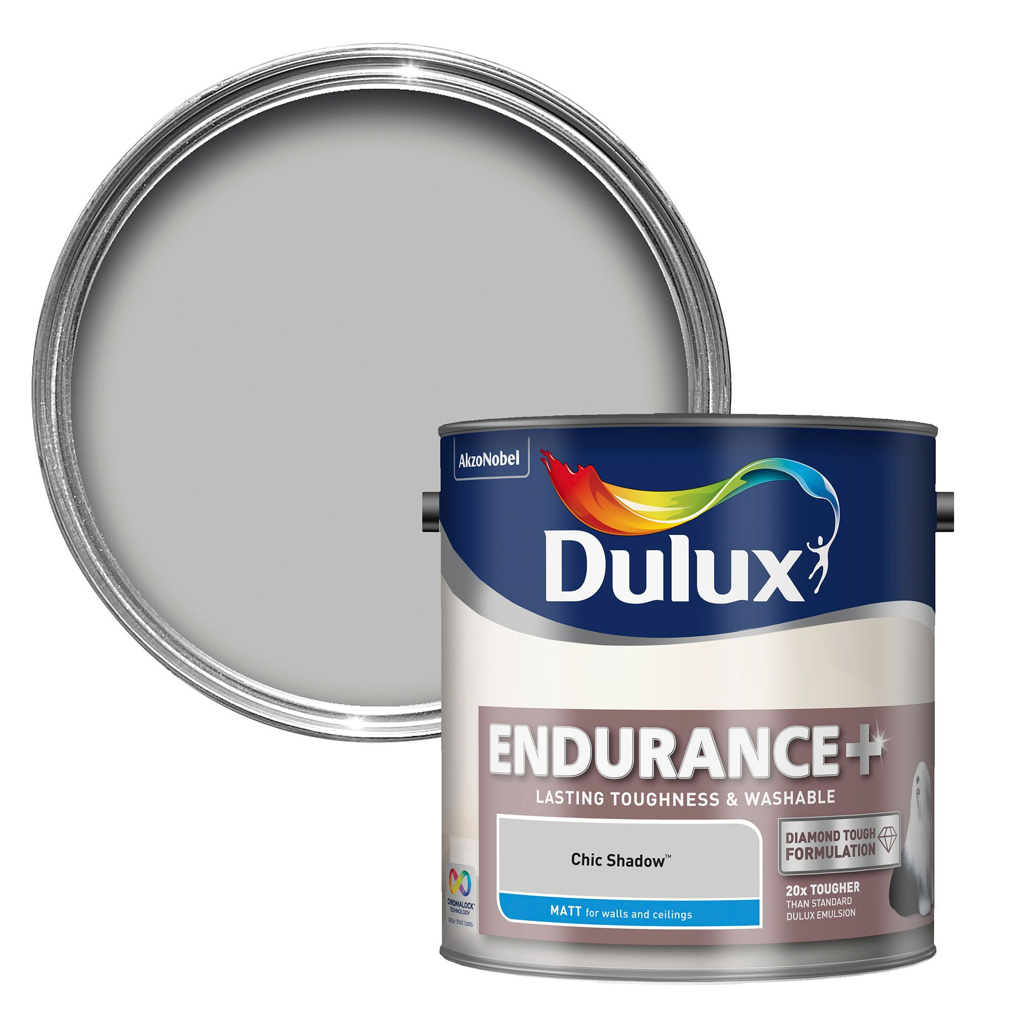 Dulux Chic Shadow Matt Emulsion Paint   L