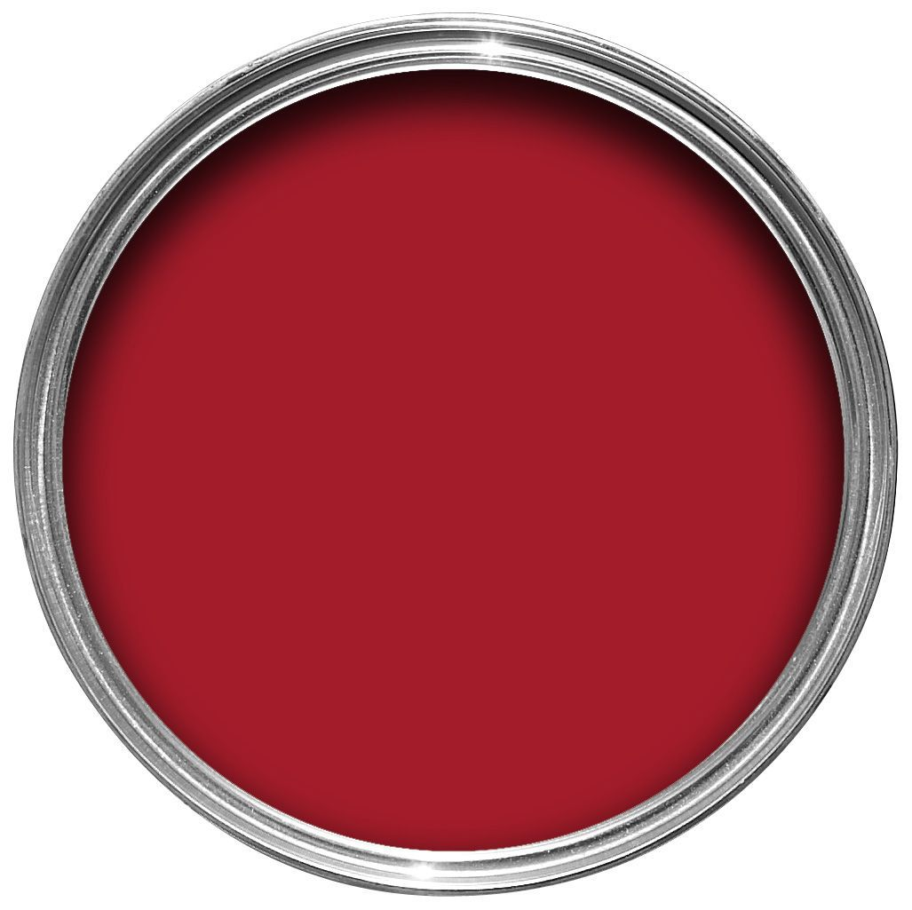 Dulux Kitchen And Bathroom Paint Colour Chart: Dulux Endurance Salsa Red Matt Emulsion Paint 2.5L
