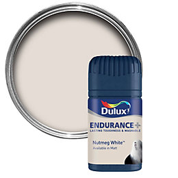 Dulux Endurance Nutmeg White Matt Emulsion Paint 50ml