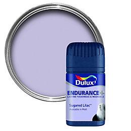 Dulux Endurance Sugared Lilac Matt Emulsion Paint 50ml
