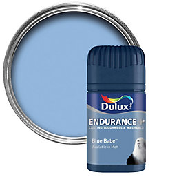 Dulux Endurance Blue Babe Matt Emulsion Paint 50ml