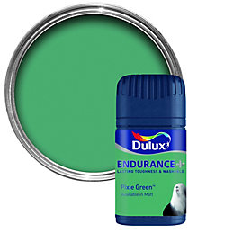 Dulux Endurance Pixie Green Matt Emulsion Paint 50ml