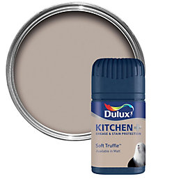 Dulux Kitchen Soft Truffle Matt Emulsion Paint 50ml