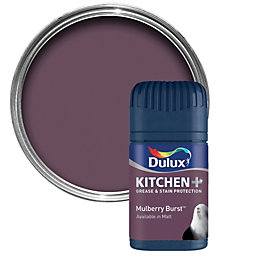Dulux Kitchen Mulberry Burst Matt Emulsion Paint 50ml
