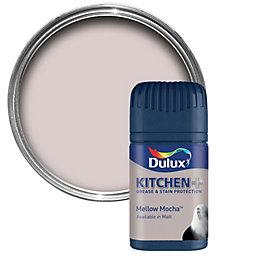 Dulux Kitchen Mellow Mocha Matt Emulsion Paint 50ml