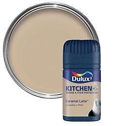 Dulux Kitchen Caramel Latte Matt Emulsion Paint 50ml