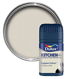 Dulux Kitchen Egyptian Cotton Matt Emulsion Paint 50ml